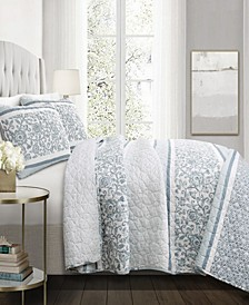 Nisha 3-Pc Set Full/Queen Quilt Set