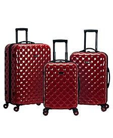 Quilt 3-Pc. Hardside Luggage Set