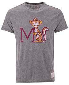 Retro Brand Men's Minnesota Golden Gophers Retro Logo Tri-blend T-Shirt