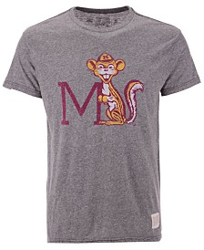 Retro Brand Men's Minnesota Golden Gophers Retro Logo Tri-blend T-Shirt