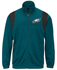 G-III Sports Men's Philadelphia Eagles Clutch Time Track Jacket