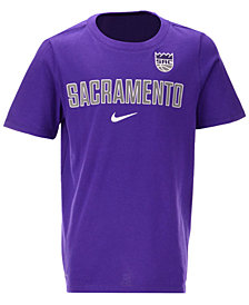 Nike Sacramento Kings Facility T-Shirt, Big Boys (8-20)