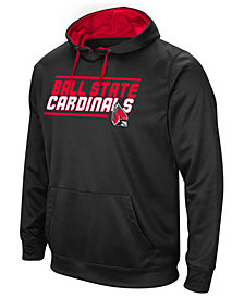 Colosseum Men's Ball State Cardinals Stack Performance Hoodie