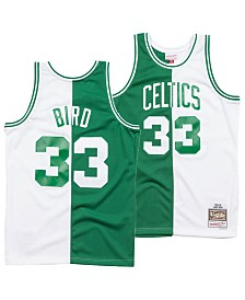 53b0ac079 Mitchell   Ness Men s Larry Bird Boston Celtics Split Swingman Jersey