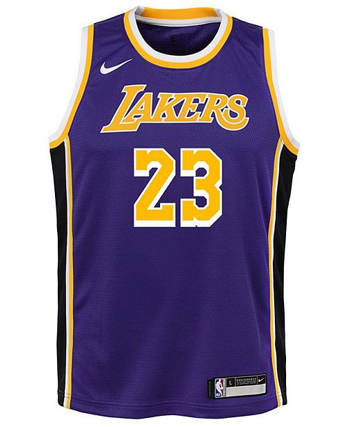 26567efaba0 Nike LeBron James Los Angeles Lakers Statement Swingman Jersey