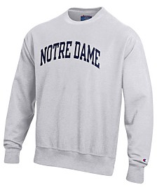 Champion Men's Notre Dame Fighting Irish Reverse Weave Crew Sweatshirt