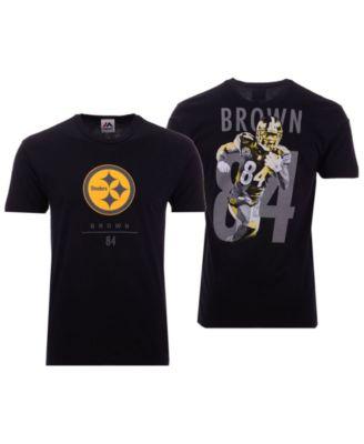 15c0f355d09c Majestic Men s Antonio Brown Pittsburgh Steelers Notorious Player T-Shirt -  Sports Fan Shop By Lids - Men - Macy s