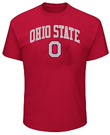 Profile Men's Big & Tall Ohio State Buckeyes Arch Logo T-Shirt