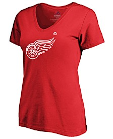 Women's Detroit Red Wings Primary Logo T-Shirt