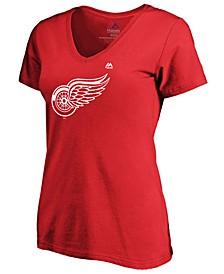 Women's Detroit Red Wings Primary Logo T-Shirt