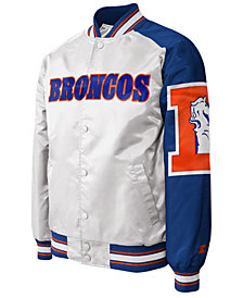 G-III Sports Men's Denver Broncos Starter Dugout Championship Satin Jacket