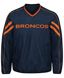 G-III Sports Men's Denver Broncos Redzone Player Lightweight Pullover Jacket