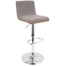 Lumisource Vasari Adjustable Barstool