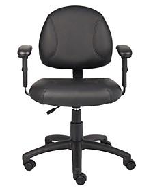 Double Plush Executive Guest Chair