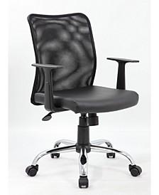Mid Back Executive Chair with Knee Tilt
