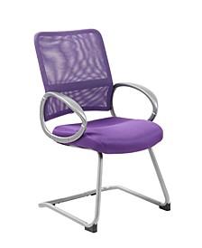 Hinged Arm Executive Chair With Synchro-Tilt