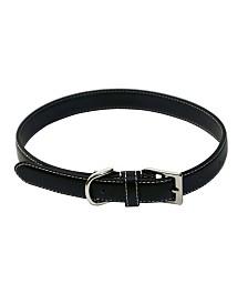 Royce Luxury Large Dog Collar in Genuine Leather