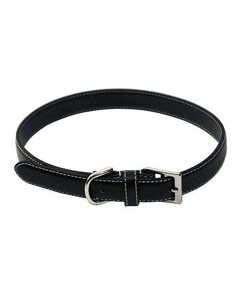 Royce Leather Royce Luxury Large Dog Collar in Genuine Leather