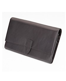 Royce Luxury Travel Passport Document and Currency Organizer in Genuine Leather