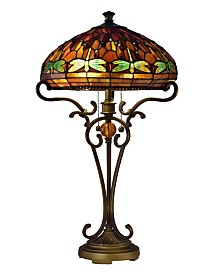 Dale Tiffany Briar Dragonfly Table Lamp