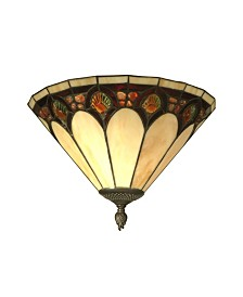 Dale Tiffany Jeweled Pebble Stone Wall Sconce