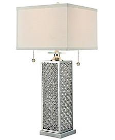Katie Lee Crystal Table Lamp