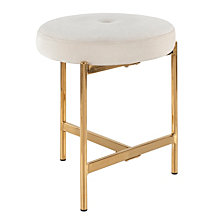 Lumisource Chloe Vanity Stool