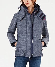 Superdry Mock-Neck Hooded Jacket