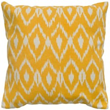 "Rizzy Home 18"" x 18"" Ikat Pillow Cover"