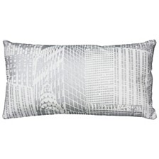 "11"" x 21"" Geometrical Design Pillow Cover"