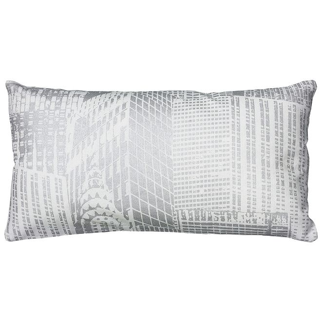 "Rizzy Home 11"" x 21"" Geometrical Design Pillow Cover"