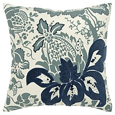 "18"" x 18"" Floral Pillow Collection"