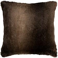 """20"""" x 20"""" Faux Fur Pillow Cover"""