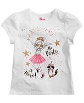 b4b528b0a Epic Threads Toddler Girls Party-Print T-Shirt, Created for Macy's