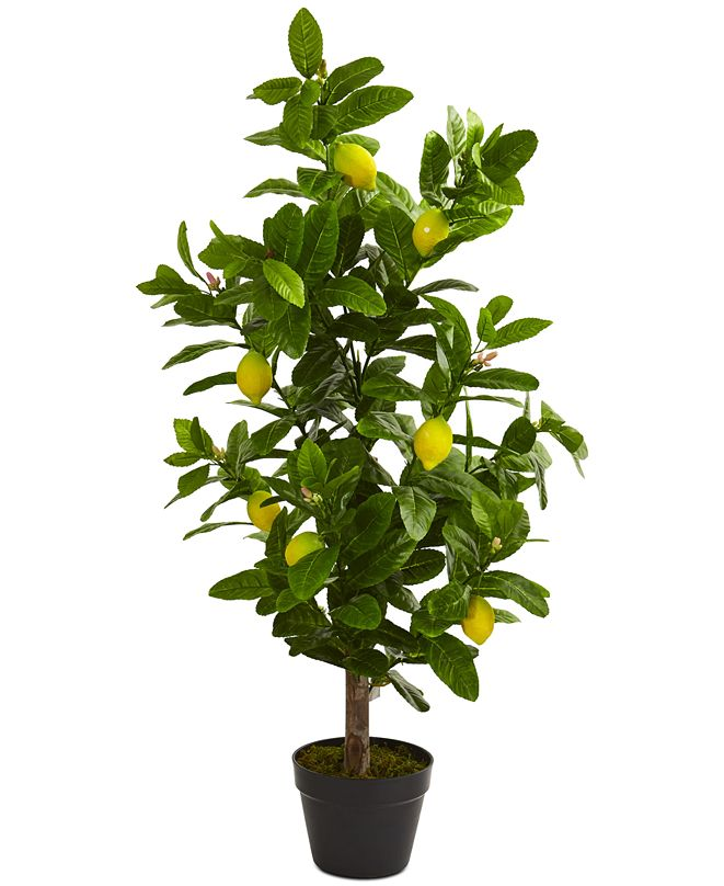 Nearly Natural 3' Lemon Artificial Tree