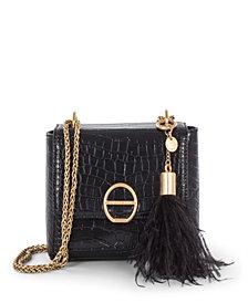 Céline Dion Collection Leather-Like Sonata Flap Bag