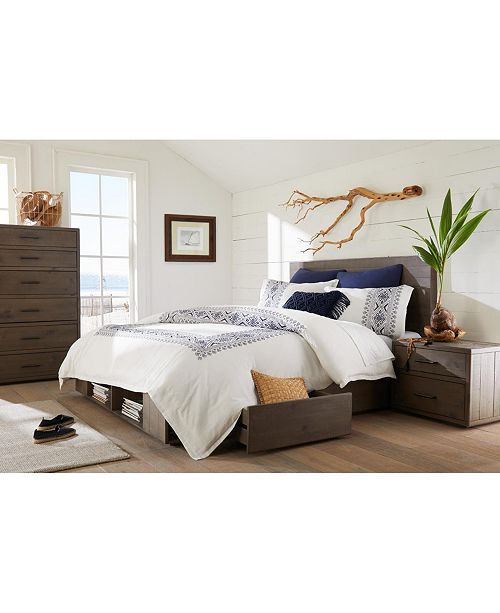 Brandon Storage Platform Bedroom Furniture Collection, Created for Macy's