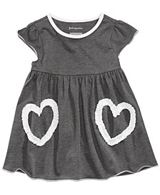 First Impressions Baby Girls Ruched Heart Tunic, Created for Macy's