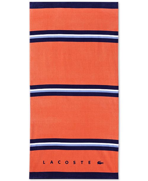 "Lacoste CLOSEOUT! Kaaloa Cotton 36"" x 72"" Beach Towel"