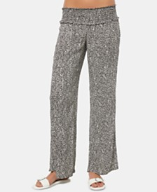 O'Neill Juniors' Johnny Chevron Flare-Leg Pants