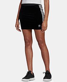 adidas Originals Adicolor Velour Skirt