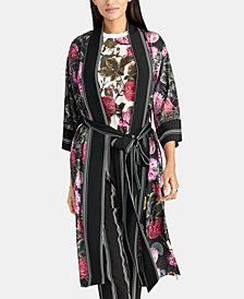 RACHEL Rachel Roy Archer Print Kimono