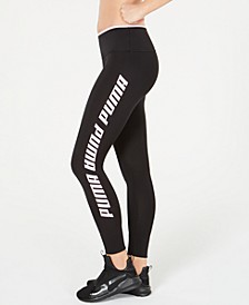 Modern Sports Fold-Up Logo Leggings