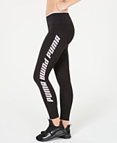 Puma Modern Sports Fold-Up Logo Leggings 1c182ad5d