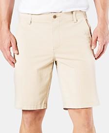 "Dockers Straight Fit Chino Smart 360 Flex 4-way Stretch 9.5"" Shorts"