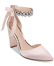 Jewel Badgley Mischka Deirdra Evening Sandals