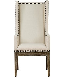 Tribeca Beige Linen Chair