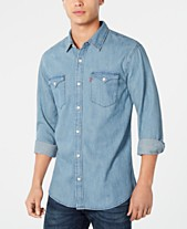 6aafb3e986d618 Levi s® Men s Matthew New Western Denim Shirt. Quickview. 8 colors