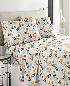 Heavy Weight Cotton Flannel Sheet Set Twin XL