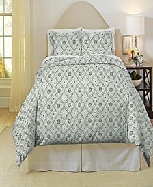 Ankara Print Heavy Weight Cotton Flannel Duvet Set Twin Twin XL